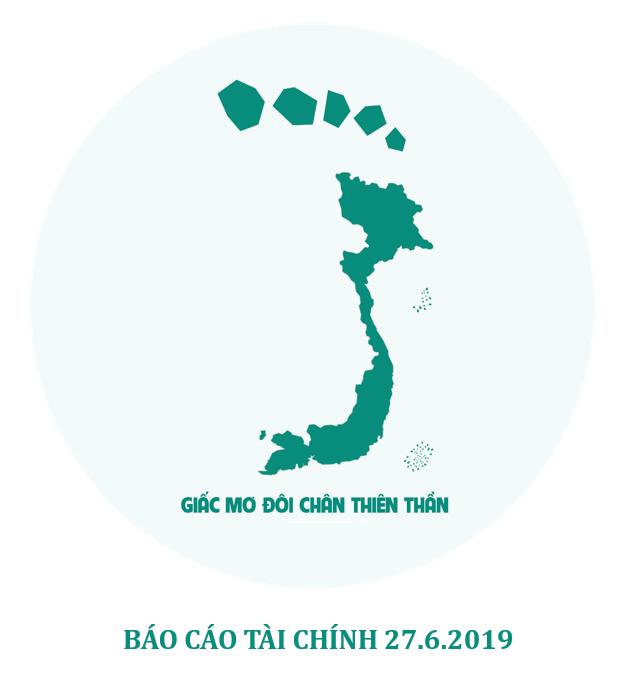 Báo cáo Tài chính Quỹ Giấc mơ Đôi chân Thiên thần ngày 27.6.2019