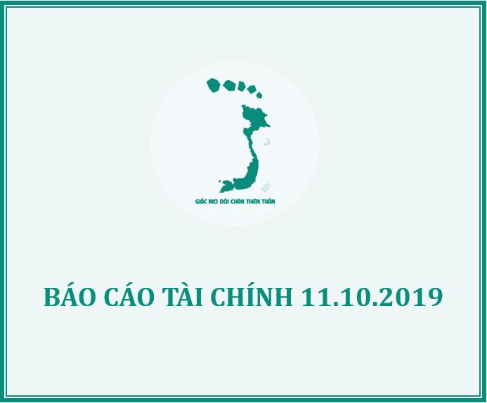 QUỸ GMĐCTT THÔNG BÁO XUẤT QUỸ HỖ TRỢ THÁNG 9/2019