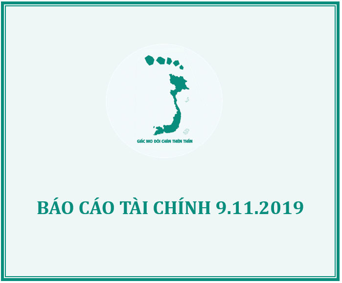 QUỸ GMĐCTT THÔNG BÁO XUẤT QUỸ HỖ TRỢ THÁNG 10/2019