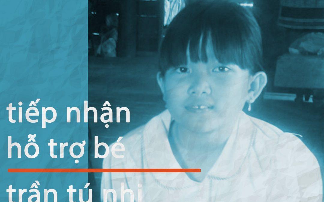 Hồ sơ bé Trần Tú Nhi